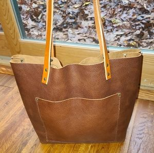 Portland Leather Goods Large Tote